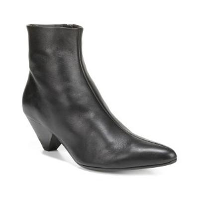 ヴィンス レディース ブーツ&レインブーツ シューズ Vince Alder Leather Bootie black leather