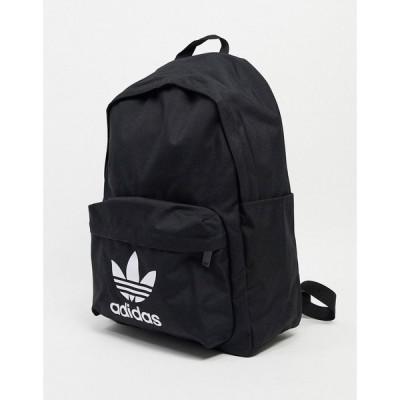 アディダス adidas メンズ バックパック・リュック バッグ Originals Backpack In Black ブラック