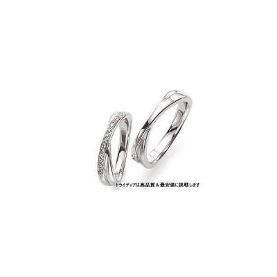 K18WGホワイトゴールドリング結婚指輪Wishウィッシュ写真右WS602