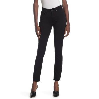 エイリーンフィッシャー レディース デニムパンツ ボトムス Skinny Jeans BLACK