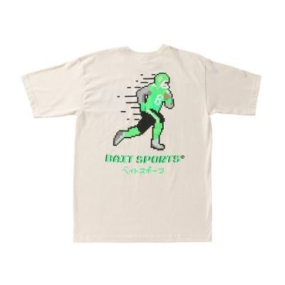 ベイト BAIT Tシャツ【2008-BAT】8ビット フットボール 8BIT FOOTBALL TEE - 206-BAT-TEE-003 メンズ レディース トップス 半袖