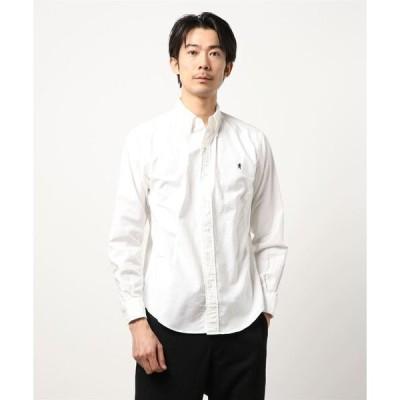 シャツ ブラウス 【Gymphlex】長袖ボタンダウンシャツ YOX MEN