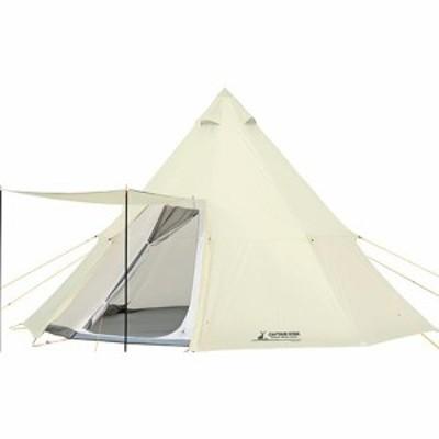 キャプテンスタッグ CAPTAINSTAG キャンプ テント CSクラシック ワンポールテント オクタゴン460UV 8人用 UA-35 【ホワイト 白 おしゃれ