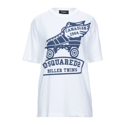 ディースクエアード DSQUARED2 T シャツ ホワイト S コットン 100% T シャツ