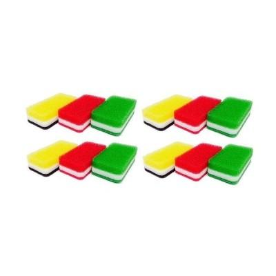 ダスキン台所用スポンジ3個入り抗菌タイプS×4セット分