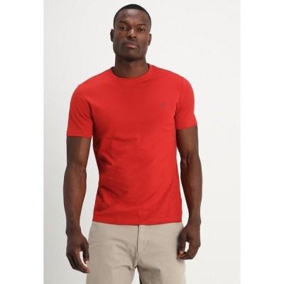 マルコポーロ Tシャツ メンズ トップス SHORT SLEEVE ROUND NECK - Basic T-shirt - pompeian red