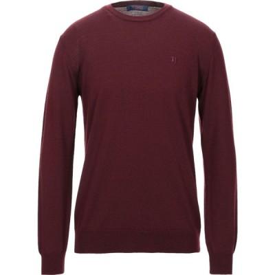トラサルディ TRUSSARDI JEANS メンズ ニット・セーター トップス sweater Deep purple