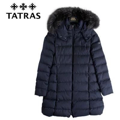 TATRAS(タトラス) LAVIANA ラヴィアナ LTA20A4571 ネイビー ダウンジャケット レディース ミドル丈ダウン