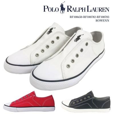 ポロ ラルフローレン POLO Ralph Lauren ラルフ スニーカー / RF100783 100782 100650 br白スニーカー