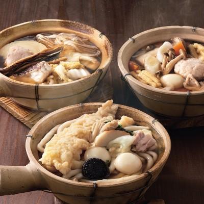 [うす家]個食鍋・個食うどん詰合せ 冷蔵・冷凍品
