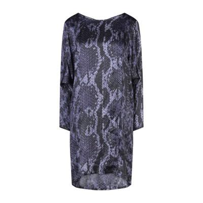 CARACTÈRE ミニワンピース&ドレス ブラック 46 シルク 100% ミニワンピース&ドレス
