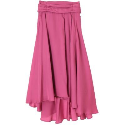 イレヘムカラーサテンスカート