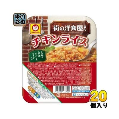 東洋水産 もち麦プラス チキンライス 160g 20個入 (10個入×2 まとめ買い)