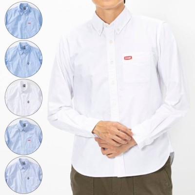 CHUMS チャムス OX Shirts オックスシャツ メンズ 2021年春夏 トップス シャツ ロゴ ワンポイント 刺繍 CH02-1150