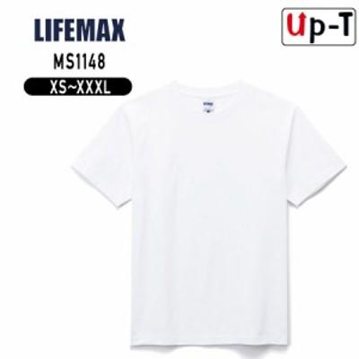 ヘビーウェイトTシャツ メンズ ホワイト 6.2オンス MS1148 LIFEMAX クルーネック アパレル
