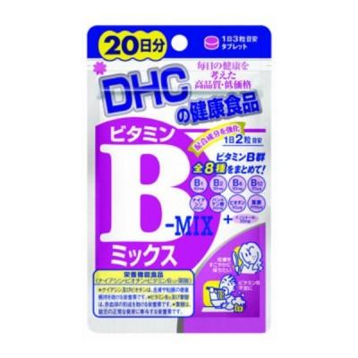 【メール便送料無料】 DHC ビタミンBミックス 20日分 40粒入 1個