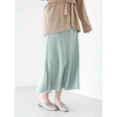 ・ELENCARE DUE セミフレアロングスカート