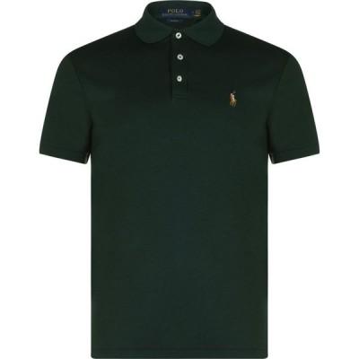 ラルフ ローレン POLO RALPH LAUREN メンズ ポロシャツ トップス Slim Pima Logo Polo Green