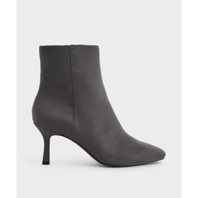 ブーツ ヒールド アンクルブーツ / Heeled Ankle Boots