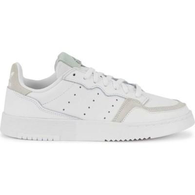アディダス adidas Originals レディース スニーカー シューズ・靴 Supercourt White Leather Sneakers White