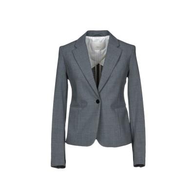 メルシー ..,MERCI テーラードジャケット グレー 42 ポリエステル 53% / バージンウール 43% / ポリウレタン 4% テーラード