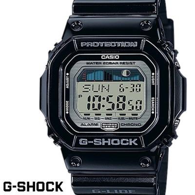 CASIO G-SHOCK ジーショック メンズ 腕時計 ブラック GLX-5600-1JF G-LIDE Gライド タイドグラフ