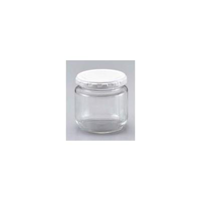ガラスジャム瓶(白キャップ付)F−125ST