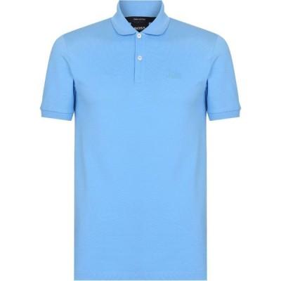 ヒューゴ ボス BOSS メンズ ポロシャツ トップス Pallas Polo Shirt Medium Blue