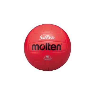 モルテン バレーボール 4号球 ソフトサーブ 軽量 赤 EV4R