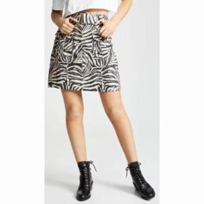 ジマーマン ミニスカート Corsage Safari Miniskirt Zebra