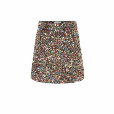 アティコ The Attico レディース ミニスカート スカート Sequinned miniskirt