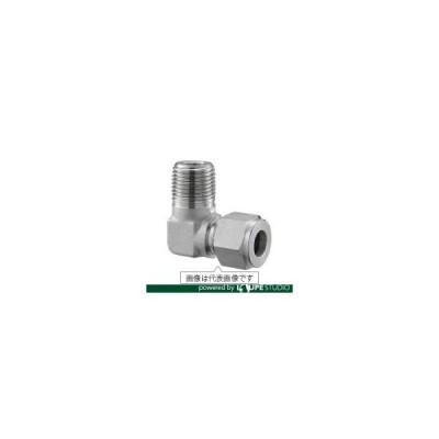 くい込み管継手 ステンレス管用 フジトク ハーフエルボ Φ6×1/8 ステンレス鋼管用 Wフェルールフィッティング SUS316 [ME-6-1] ME61 販売単位:1