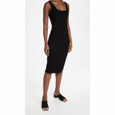 ヴィンス Vince レディース ワンピース ワンピース・ドレス Square Neck Dress Black