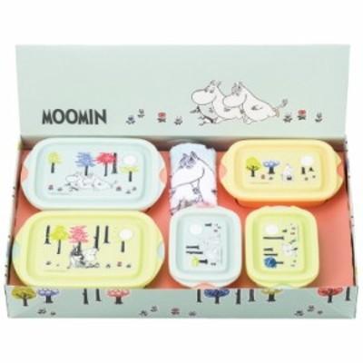 ムーミン 電子レンジ容器・タオル6点セット SET939(代引不可)