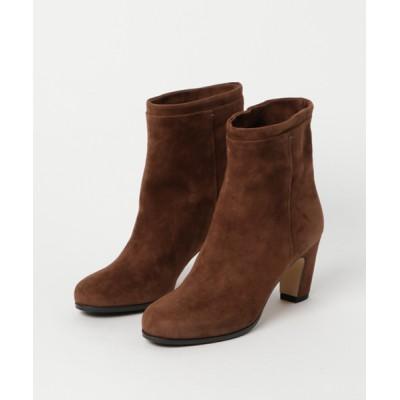 ground green store / FABIO RUSCONI / GLO725 / スエードショートブーツ WOMEN シューズ > ブーツ