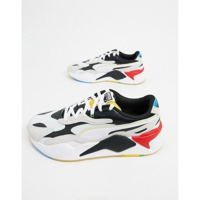 プーマ メンズ スニーカー シューズ Puma RS-X3 sneakers in white and black Puma white-puma blac