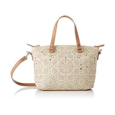 Desigual Bag Cronos Gela Women Desigual, Women's Cross-Body Bag, White (Crudo), 10.5x22x25 cm (B x H T) 並行輸入品