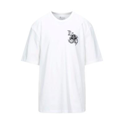 MOOSE KNUCKLES T シャツ ホワイト S コットン 100% T シャツ