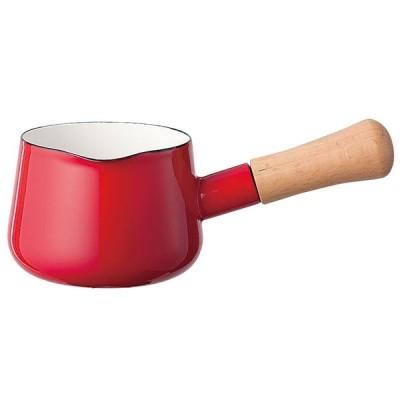 ミルク鍋 料理道具 / ソリッド ミルクパン 12cm SD-12M・R 赤 寸法: 内径:120mm 深さ:82mm 0.75L