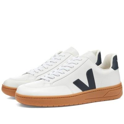 ヴェジャ Veja メンズ スニーカー シューズ・靴 V-12 Leather Sneaker White/Gum/Navy