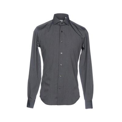 XACUS シャツ スチールグレー 39 コットン 100% シャツ
