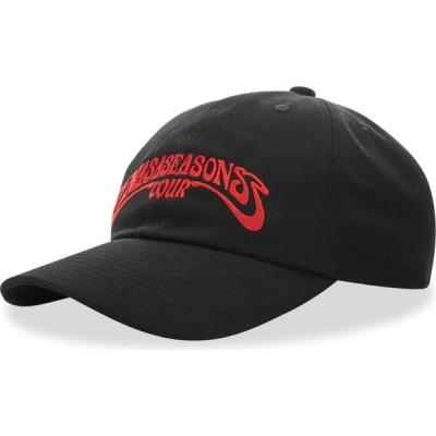 ナサシーズンズ NASASEASONS メンズ キャップ 帽子 groovy cap Black