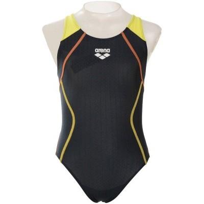 arena アリーナ ジュニアスーパーストリーナ(着やストラップ) ARN-0051WJ スイミング ガールズ競泳 スイム ガールズ NVYL 送料無料