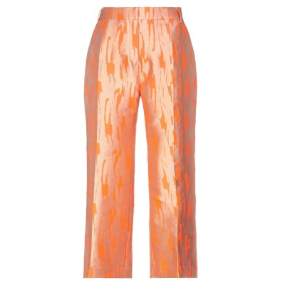 1-ONE パンツ オレンジ 44 ポリエステル 100% パンツ