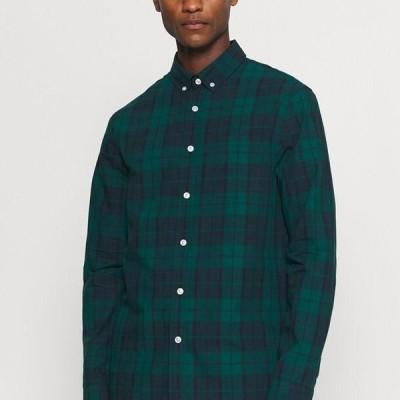 ピアワン メンズ ファッション Shirt - green