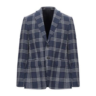 LAB. PAL ZILERI テーラードジャケット ブルー 50 コットン 65% / リネン 25% / ポリエステル 10% テーラードジャケ