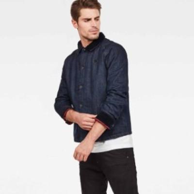 gstar ジースター ファッション 男性用ウェア ジャケット gstar type-c-lumber-padded-overshirt
