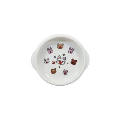 金正陶器 「 ノンタン 」 ユニバーサルデザイン ボウル M 820118 日本製 ホワイト 14.5cm