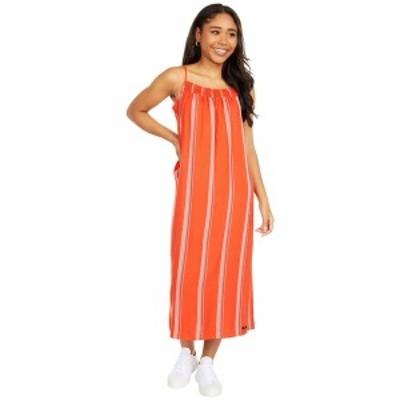 ハーレー レディース ワンピース トップス Quin Midi Dress Mantra Orange