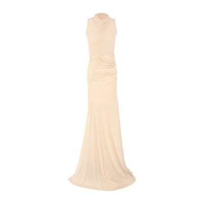 RICK OWENS LILIES ロングワンピース&ドレス ライトピンク 40 キュプラ 83% / ポリウレタン 17% ロングワンピース&ドレス